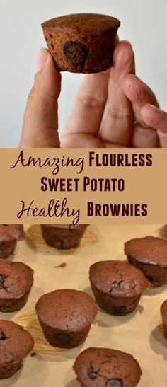 Amazing Flourless Sweet Potato Healthy Brownies recipe. Best easy recipe for weekend treats.