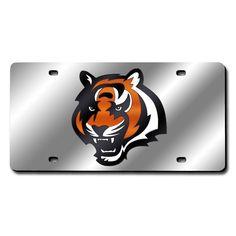 Houston Texans Glitter License Plate Frame - Black