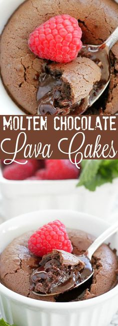 Molten Chocolate Lava Cakes | Foodtastic Mom