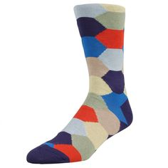 Men's socks need not be boring.