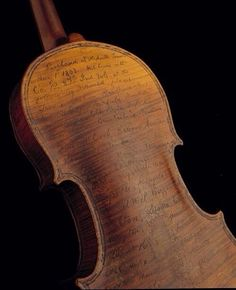A Civil War Soldier used his violin as a diary to record his travels and battles…via americanhistory.