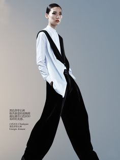 Tao Okamoto by Josh Olins for Vogue China August 2013