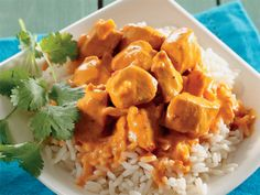 Creamy butter chicken. Reader Estelle Potgieter of East London often makes this delicious dish.