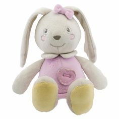 Chicco Soft Colour Bunny Pink (suitable for newborns) #toy #baby #chicco www.babydino.com/...