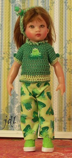 Lucky Frogs for Riley Kish by JDL Doll Clothes