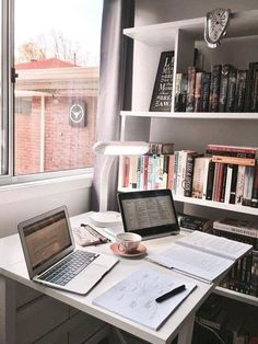 𝓼𝓾𝓼𝓪𝓷𝓼𝓲𝓷𝓼𝓹𝓲𝓻𝓪𝓽𝓲𝓸𝓷studying - studyblr - inspiration - school - college - high school - finals - back to school - inspo - motivation - desk - interior - home - organized - cute - vsco - Study Areas, Study Space, Study Rooms, Home Study, School Motivation, Study Motivation, Homework Motivation, Motivation Pictures, Studio Decor