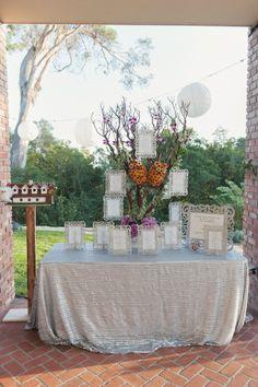 Classic Santa Barbara Wedding by Venus Event Design. Photo by Kris Kan. Tables named after streets in Santa Barbara #santabarbara -repinned from Southern California ceremony officiant https://OfficiantGuy.com #sb #weddings