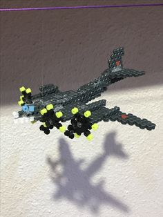 Avión hama beads
