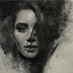 Portrait by casey baugh
