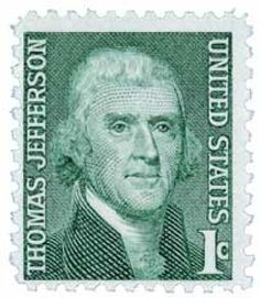 Stamp: Thomas Jefferson President (United States of America) (Famous Americans) Mi:US 816 Old Stamps, Rare Stamps, Vintage Stamps, Postage Stamp Collection, Commemorative Stamps, Thing 1, Thomas Jefferson, Stamp Collecting, Poster