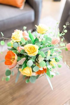 Alexis Grace Florals Tucson Arizona Wedding Florist Top View