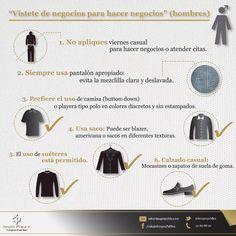 Hombres, sigan los Imagotips de Alvaro Gordoa con respecto al Viernes Casual y su adecuada ejecución.