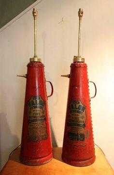 Ideal Original s Fire Extinguisher Lamp