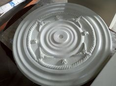 Plaster Medallion by RT Salvage Store, via Flickr