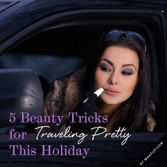 Make up tips for all those trips!!