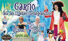 LA RADIO BLOG: Garfio En El Reino Congelado De Anna Y Elsa