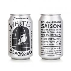 White Blackbird | Designed by Gentleman. Pinned for: Example of hand lettering and how far it can be taken – how that changes the vibe of an image to make it seem more grungy.