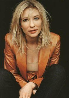 Cate Blanchett is an incredible actress, and quite the intellectual...truly an artist of the psyche!