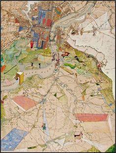 "Josh Dorman map ""Fragmento de Phil Aware River"""