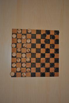 DIY games  jeux en bois Les Dames