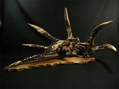 antler carving