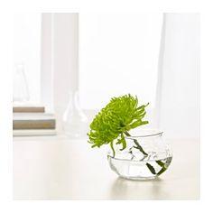 IKEA - $1.49 VILJESTARK, Vase,  The unique shape makes the vase beautiful both with and without flowers.