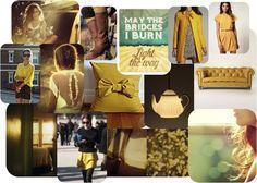 daily #inspiration  - #mustard #yellow #spring