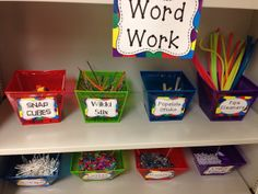 Word Work Activities - Great collection of free ideas!