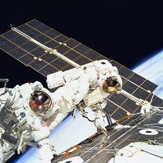 First International Space Station Assembly Spacewalk December 7, 1998 - Endeavour's STS-88 mission carried the first U.S. contribution to the International Space Station—the Unity node. During the flight, NASA astronauts Jerry Ross and Jim Newman made a spacewalk to connect Unity to the Russian piece in orbit, the Zarya module, by hooking up 40 cables and connectors between the structures to form the heart of the nascent space station. To date there have been 187 spacewalks outside the…