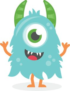 I think I'm in love with this shape from the Silhouette Design Store! Doodle Monster, Monster 1st Birthdays, Monster Birthday Parties, Monster Party, Cute Monsters, Little Monsters, Monster Theme Classroom, Monster Clipart, Raster To Vector