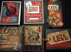 Tim Holtz 4th of July