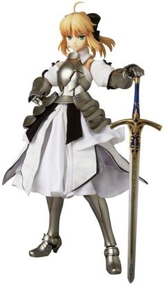 Saber Lily RAH No.669 Action Figure ~ Fate/stay night $300.00 (This is a preorder item scheduled for release in December 2014) http://thingsfromjapan.net/saber-lily-rah-669-action-figure-fate-stay-night/ #fate stay night #action figure #saber lily #Japanese anime figure