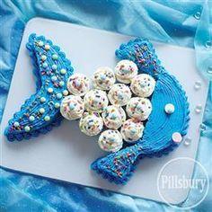 One Fish Blue Fish Cake from Pillsbury® Baking