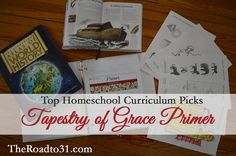 Top Homeschool Curriculum Picks: Tapestry of Grace Primer Review - for exploring history for ages kindergarten and first grade