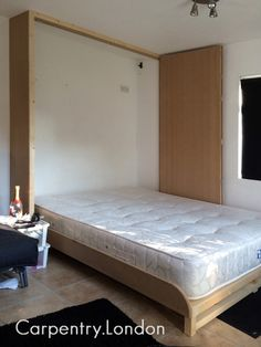 bespoke made wall bed, Murphy bed uk