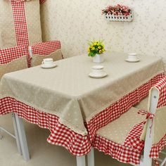 rustik moda masa örtüsü masa örtüsü yemek masa örtüsü masa örtüsü yemek sandalye seti minder sandalye kapsar(China (Mainland))