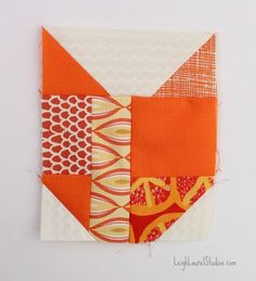 cat's head quilt block