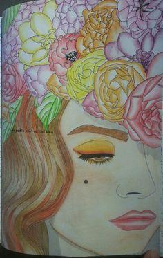 Fleurs arttherapie Crayons aquarellables kohinoor mondeluz