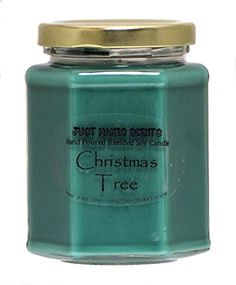 Christmas Tree Scented Blended Soy Candle by Just Makes Scents *** Click image to review more details.