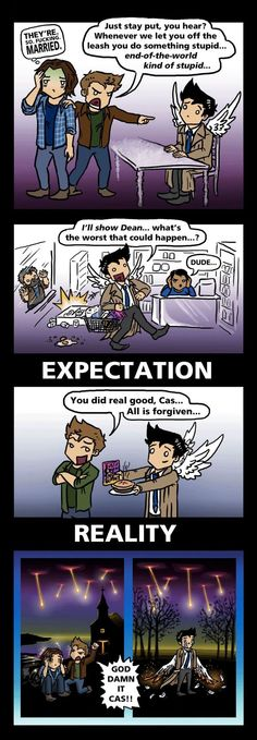 Supernatural comic