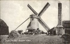 Sugar Cane Mill windmill Barbados British West Indies ~ vintage postcard | eBay