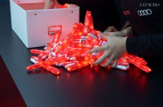 Audi e-tron Party | SAYWHO - #RFID & #LED WRISTBANDS // #NFC #EVENT