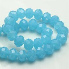 148Pcs/Lot 4mm Mixed Faceted Glass Crystal Spacer Rondelle Beads Crystal Glass Beads For Jewelry Making Free Shipping
