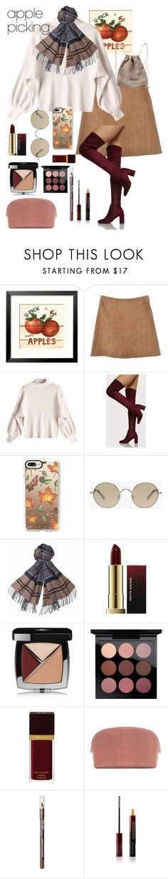 """apple picking!"" by fashiont4life on Polyvore featuring Casetify, Tura, Barbour, Chanel, Tom Ford, MAKE UP FOR EVER and Kevyn Aucoin"