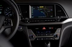 2017 Elantra Sedan - available 7.0-inch Display Audio touchscreen system with rearview camera, and Hyundai's next-generation 8.0-inch navigation system.