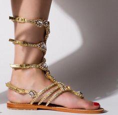 0faabba4a905fb 89 Best Gold Sandals images