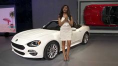 There's always room for surprises at the Los Angeles Auto Show even if they're as petite as the all-new 2017 FIAT 124 Spider. Essentially, the FIAT 124 Spide...