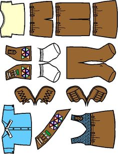 Girl Scout Brownie Clothes for Paper Dolls from Making Friends
