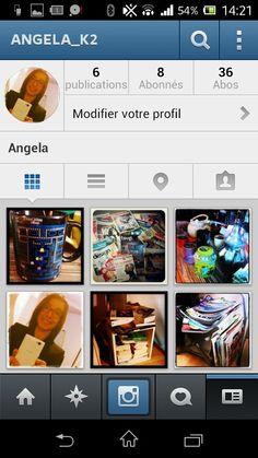 Depuis peu, on peut me trouver sur Instagram.