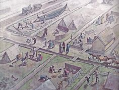 The early beginning of a Viking town - Ribe ca 700.